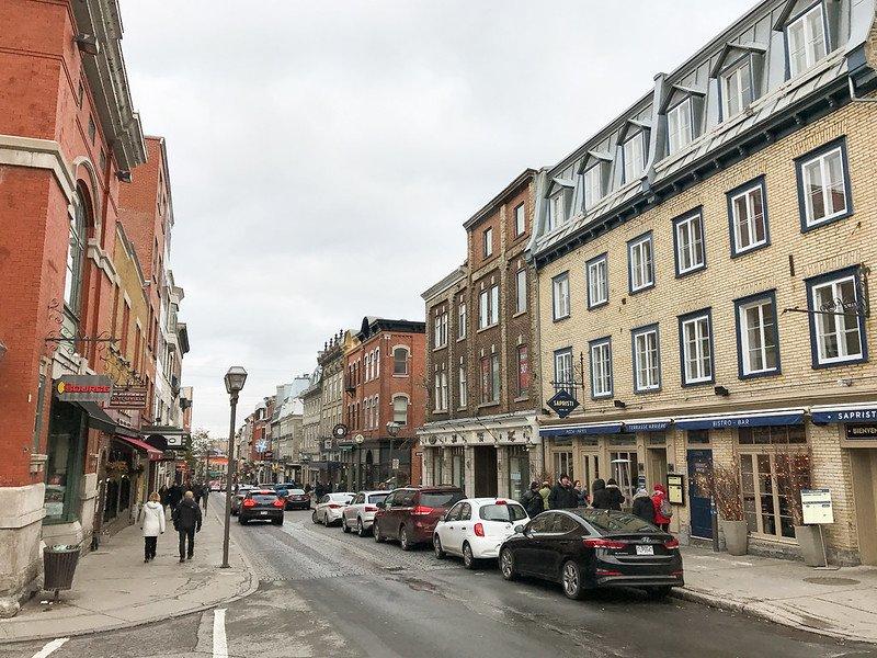rue saint-jean quebec pic by lou stejskal
