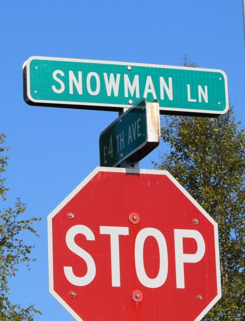 snowman lane pic by hadyn blackey