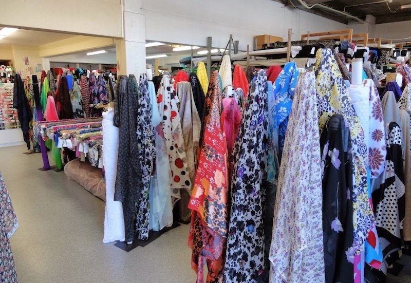 the fabric warehouse mt eden shop pic