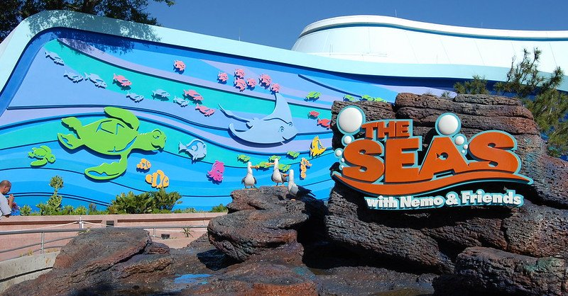 the seas with nemo and friends by josh hallett