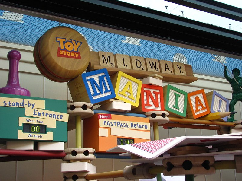 toy story mania ride hollywood studios pic by jeremy thompson