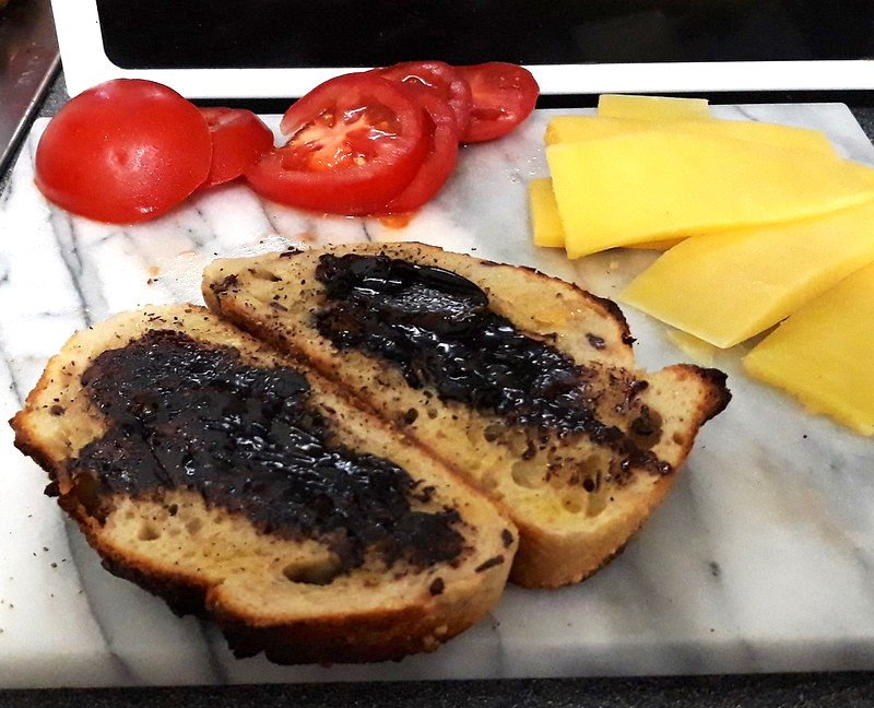 vegemite on toast by david jackmanson
