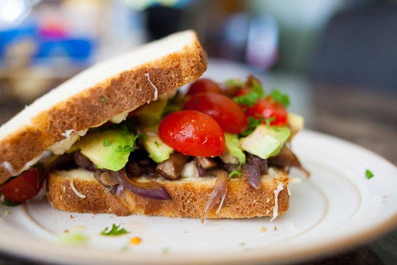 healthy road trip food vegetarian sandwiches by sodanie chea flickr