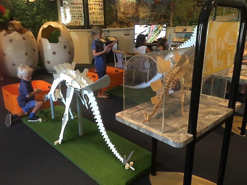 Dinosaur Museum Canberra children's activity room