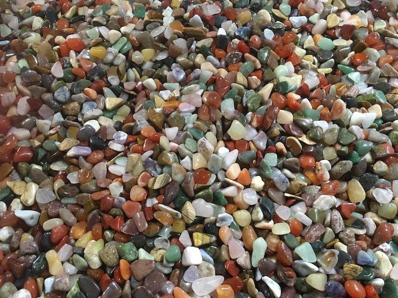 Dinosaur Museum Canberra shop tumbled stones pic