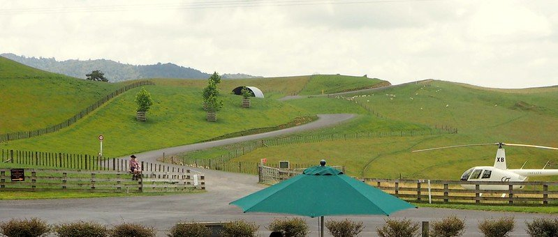 hobbiton movie set entrance road by henry burrows