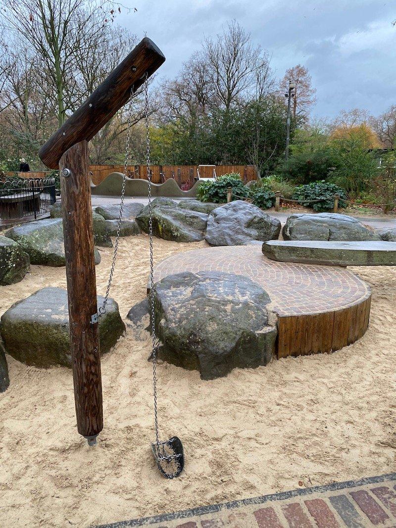 image - st james park playground london
