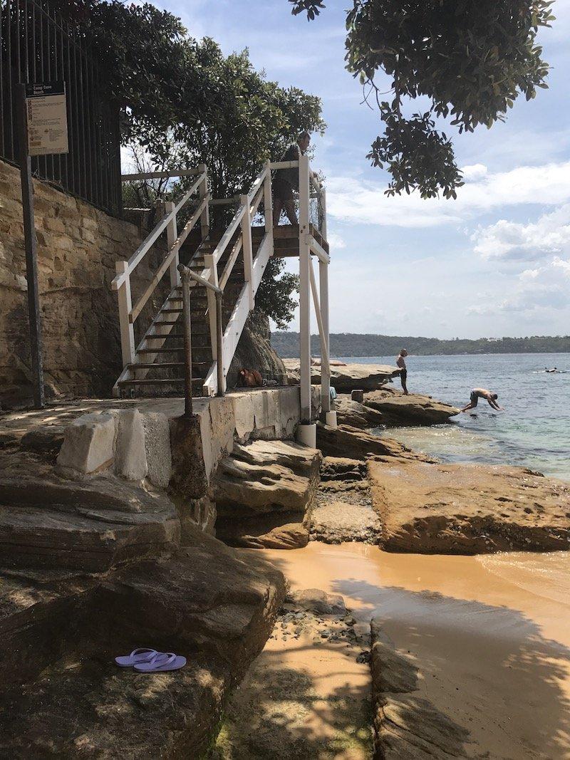 photo - camp cove beach sydney staircase