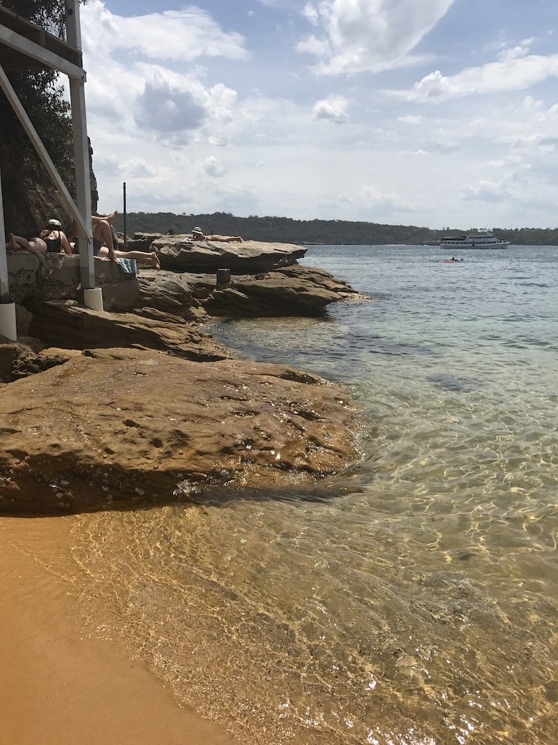 photo - how to get to camp cove beach
