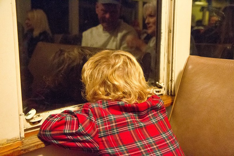 polar express looking out window by josh grenier 8344482112