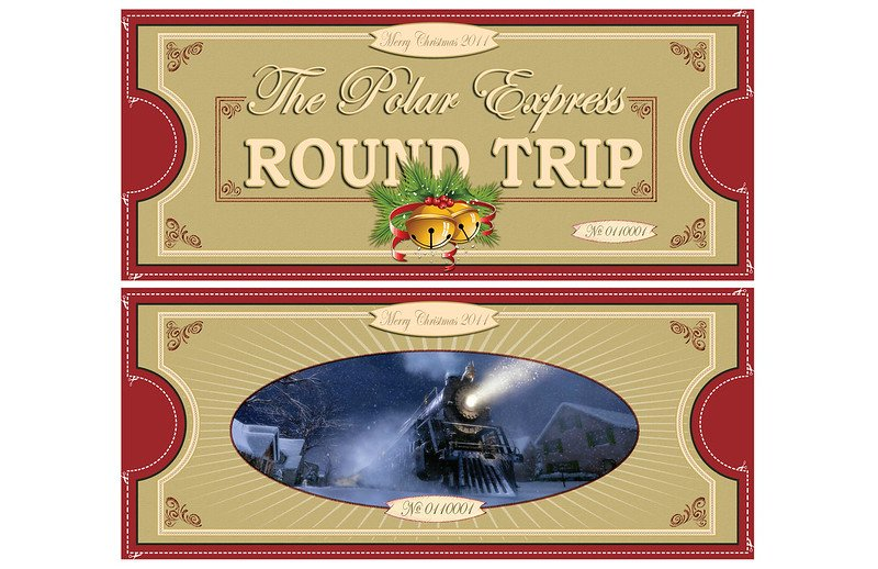 polar express ticket printable pic by kevin edwards