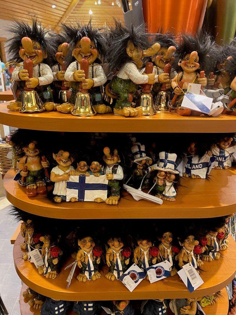 Image - Christmas house gift shop trolls