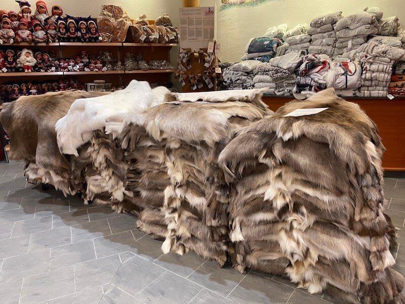 Image - Christmas house reindeer hides