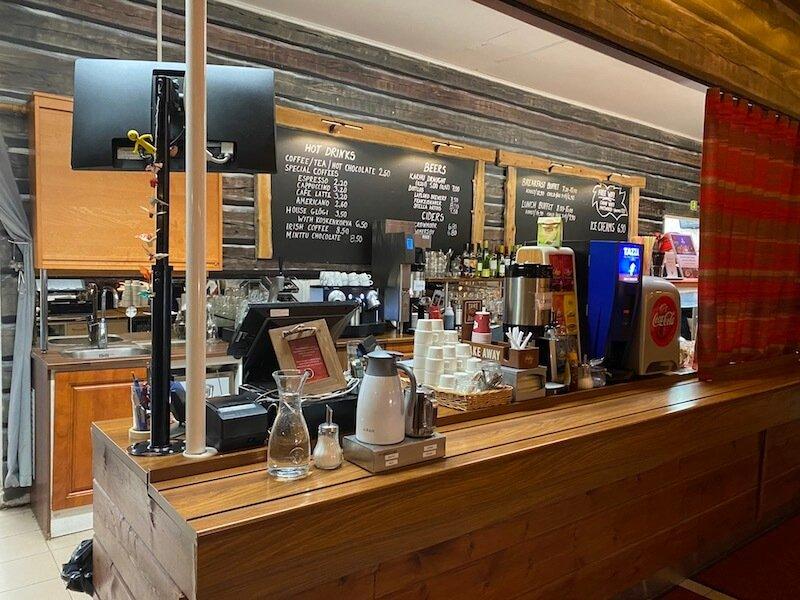 Image - Christmas house restaurant & coffee bar counter