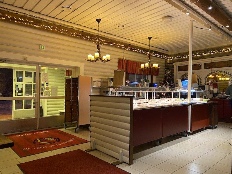 Image - Christmas house restaurant & coffee bar dinner buffet