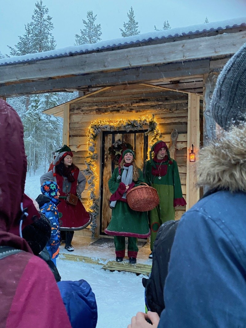 Image - Lapland elves at santa claus secret forest of joulukka