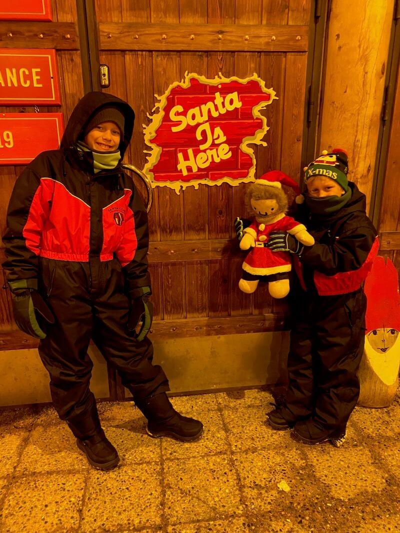 Image - Santa Claus Office entrance