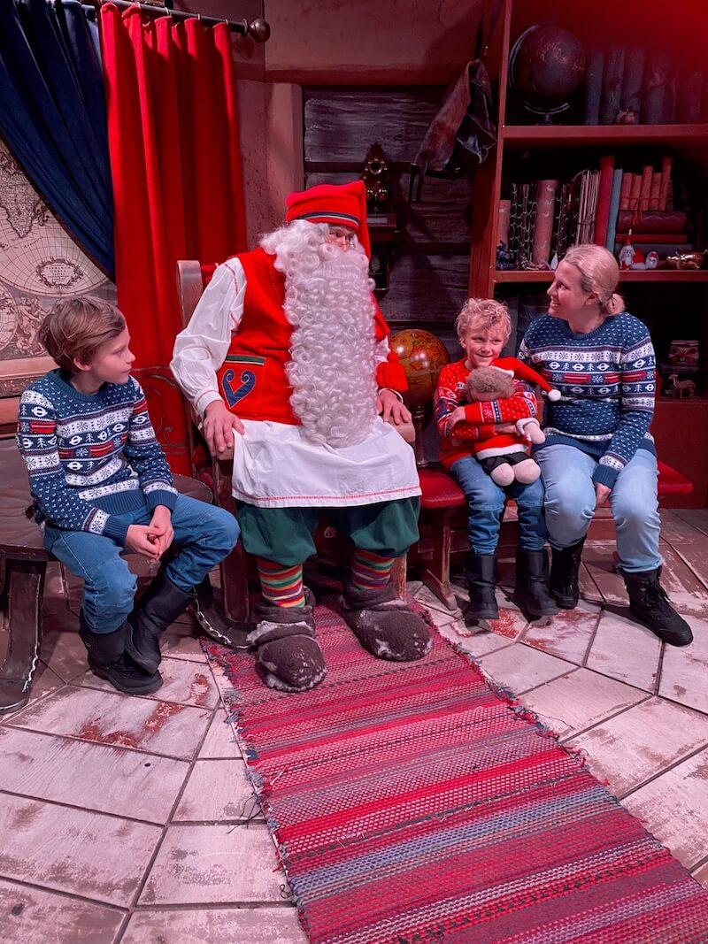 Image - Santa Claus Office family meeting