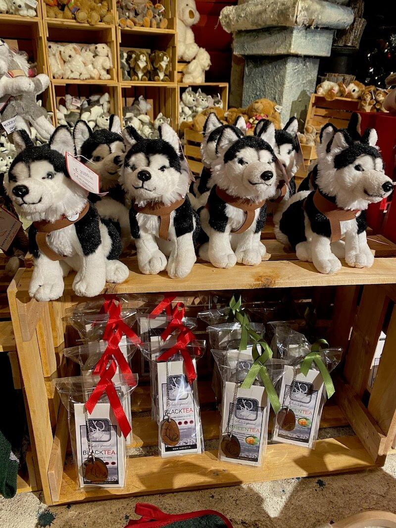 Image - Santa Claus Office husky souvenirs