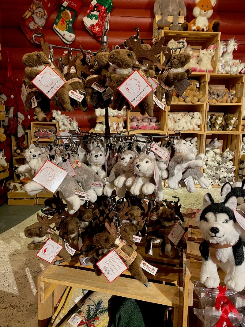 Image - Santa Claus Office husky toys
