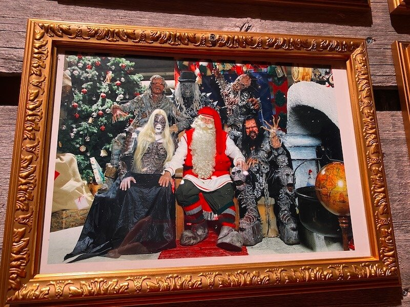 Image - Santa Claus Office official photo wall