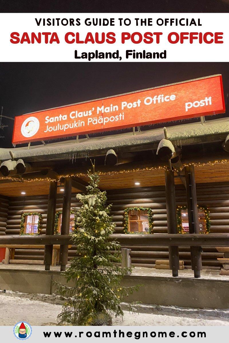 PIN santa post office lapland