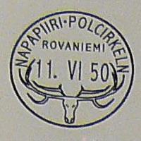 first arctic circle postmark