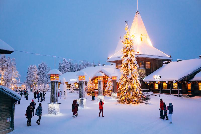 where is santa claus village