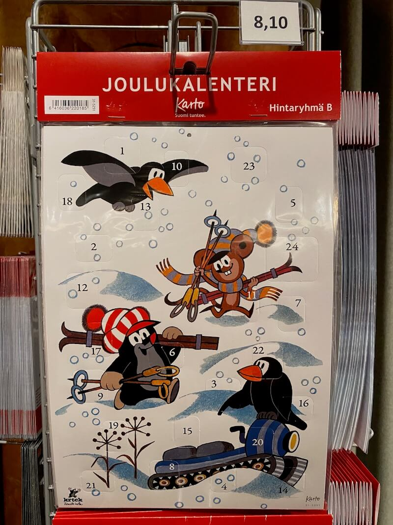 image - official santa post office advent calendar finland