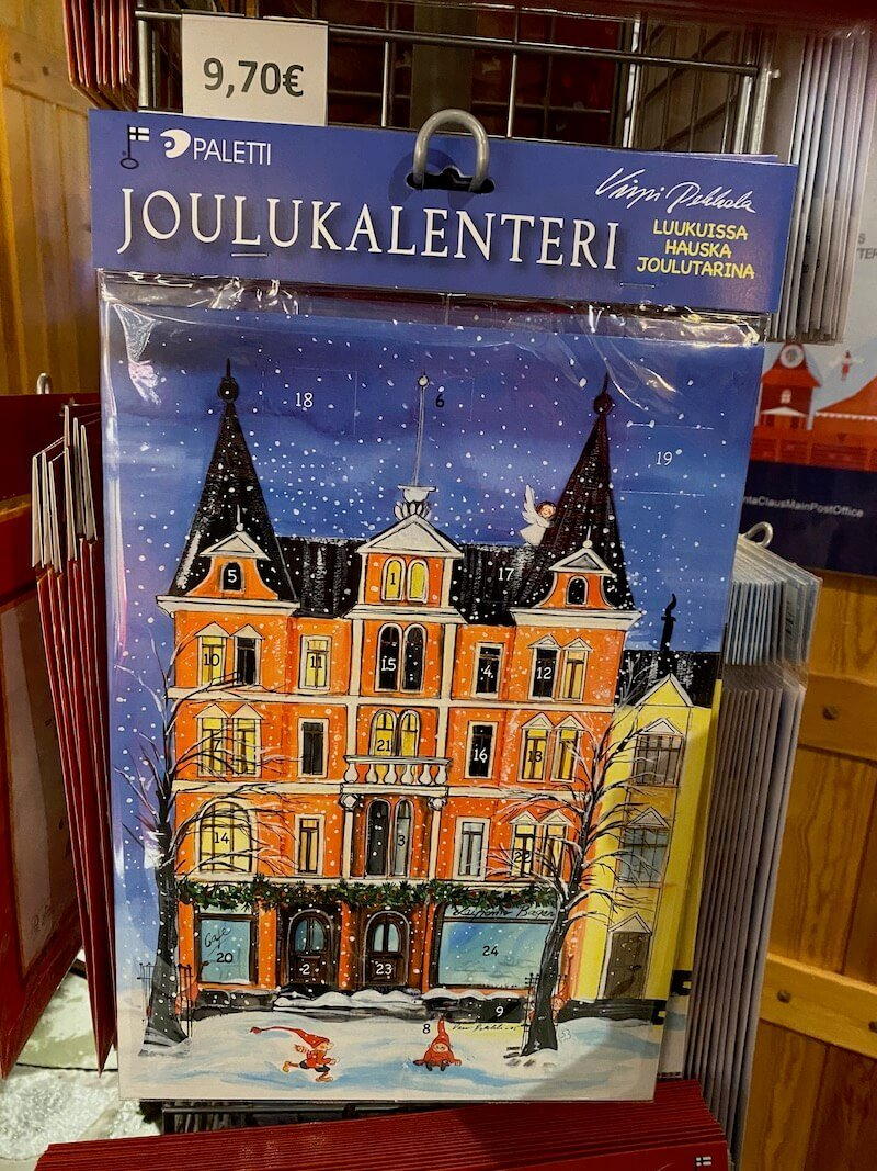 image - official santa post office advent calendar for wall
