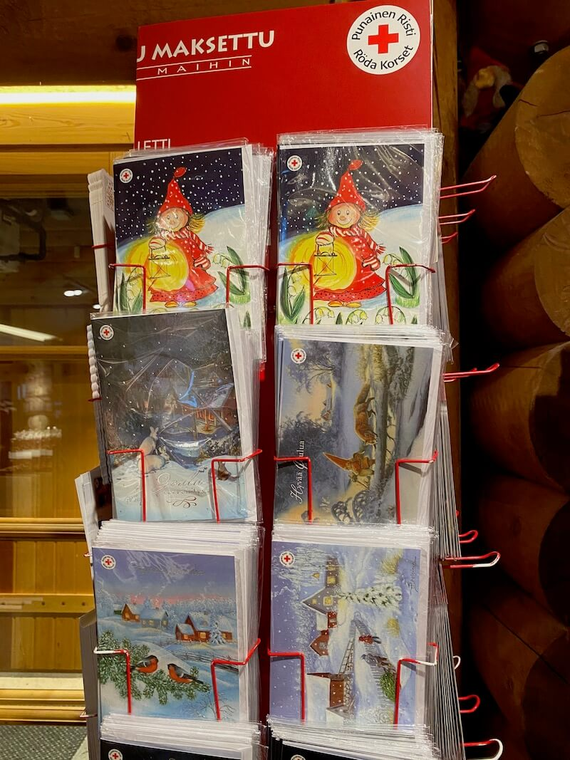 image - official santa post office cards