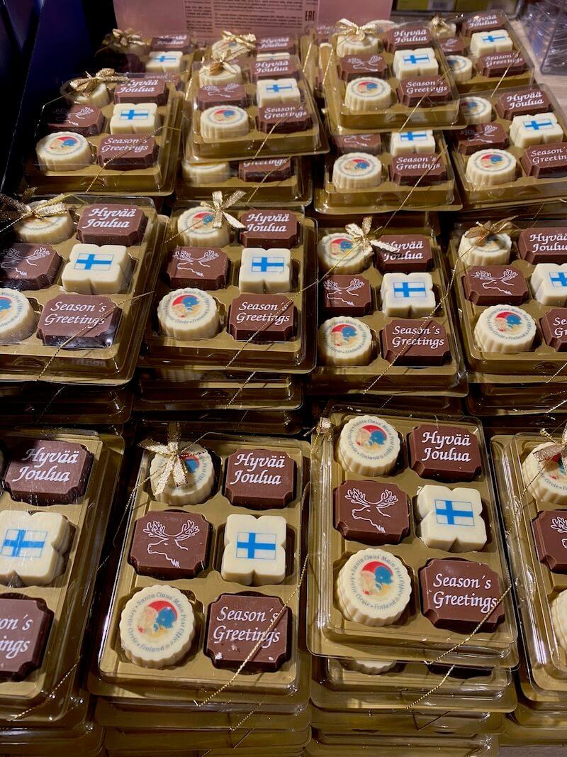 image - official santa post office gift shop chocolates