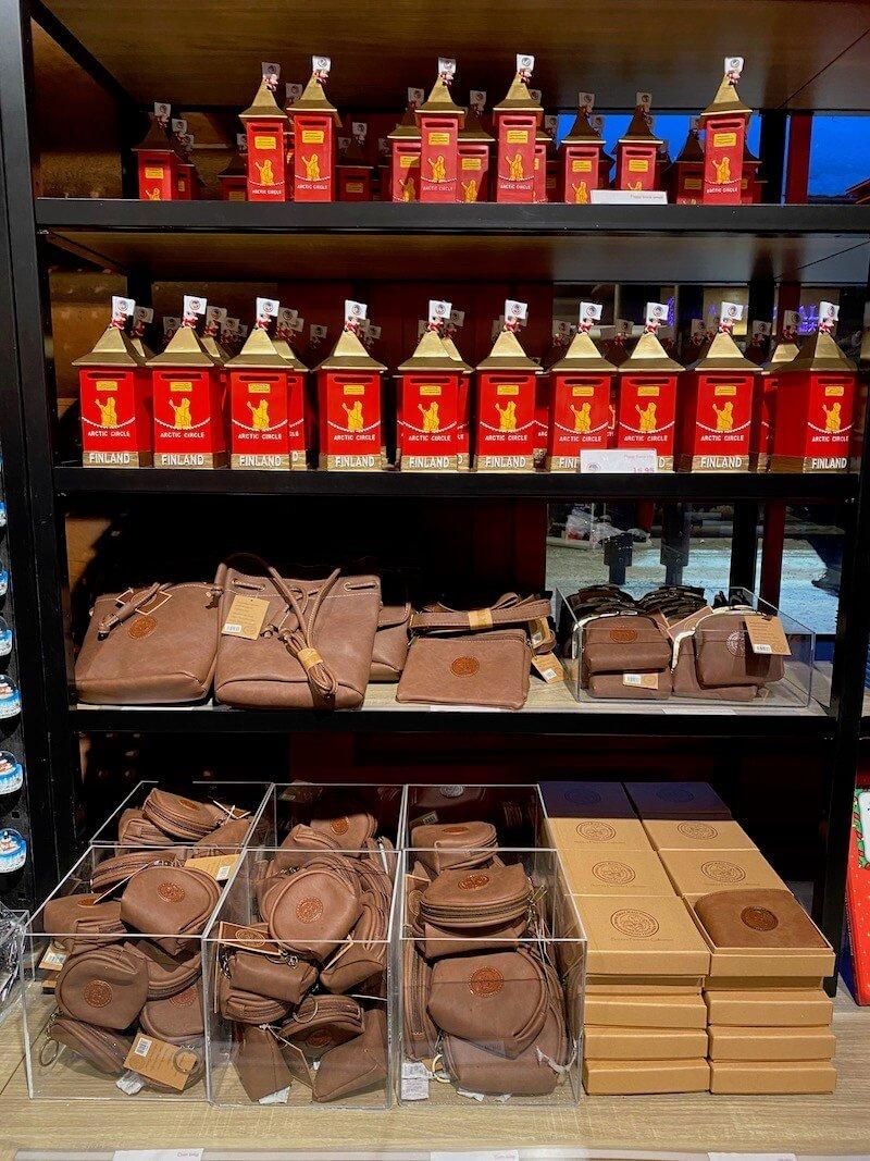 image - official santa post office gift shop money purses