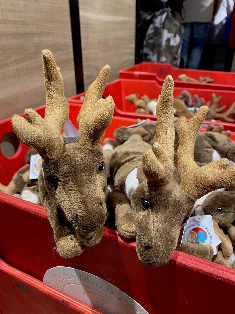 image - official santa post office gift shop reindeer
