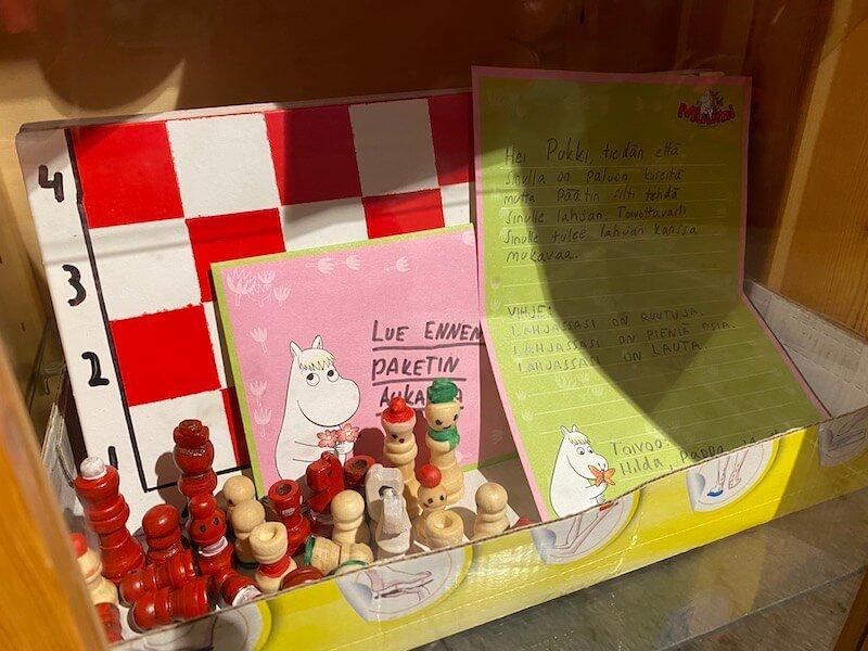 image - official santa post office gifts for santa moomin chess 2