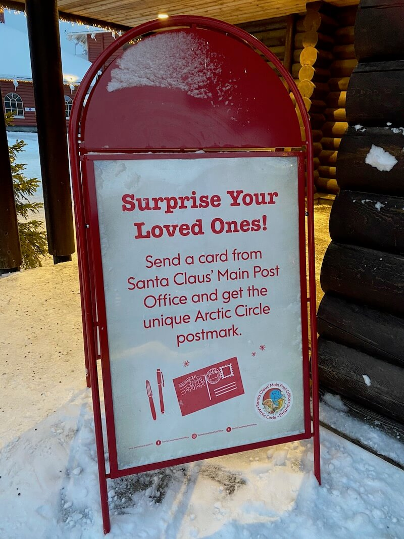 image - official santa post office lapland