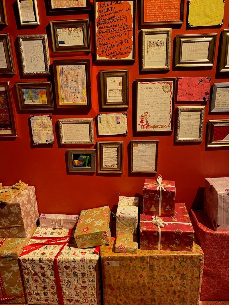 image - official santa post office letter display