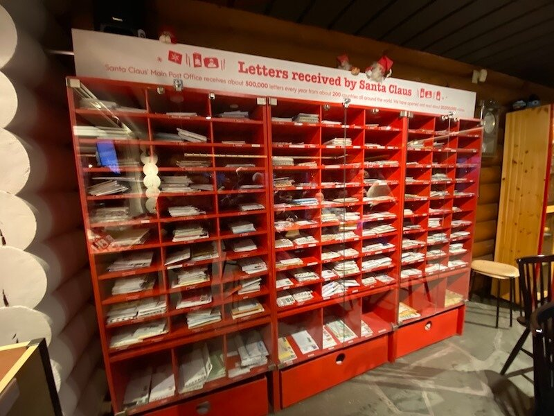 image - official santa post office rovaniemi country display