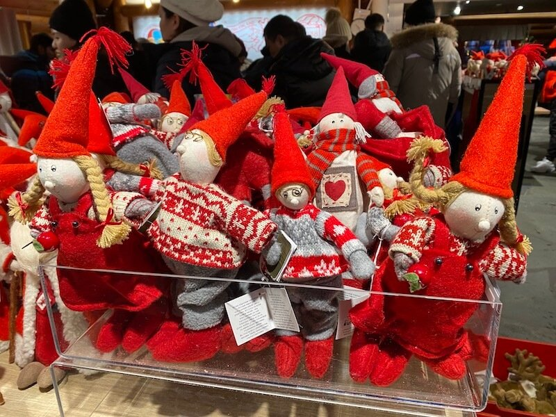image - official santa post office rovaniemi dolls