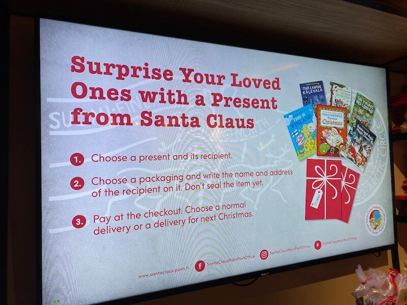 image - official santa post office rovaniemi giftbox