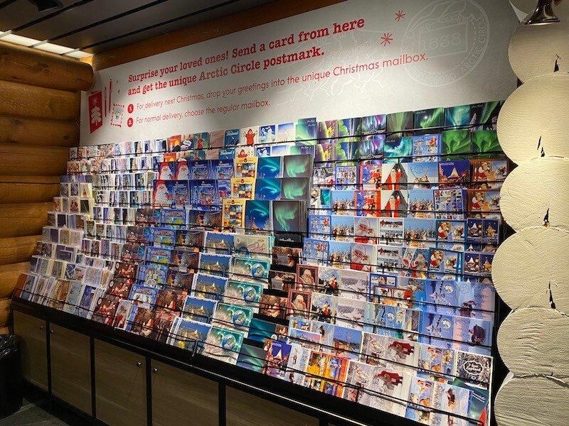 image - official santa post office rovaniemi shop postcards