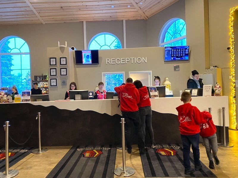 image - santa claus hotel reception