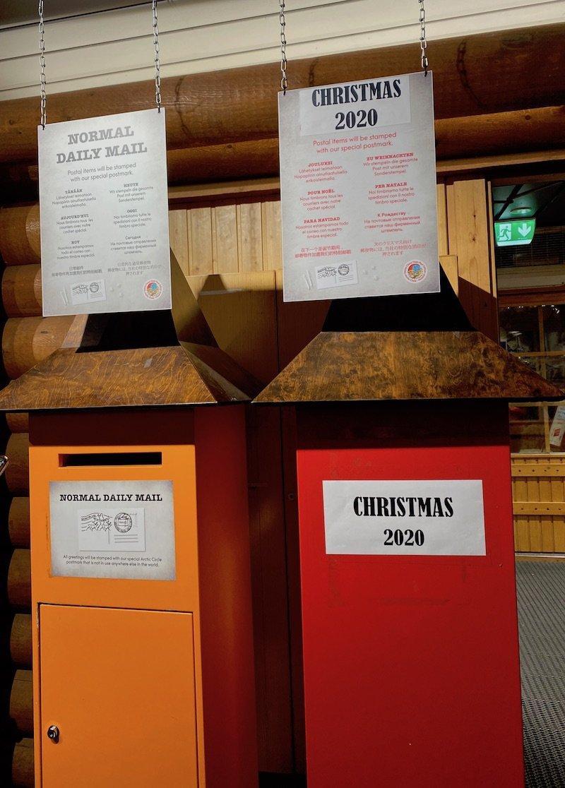image- santa post office post-boxes
