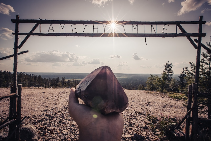 day tour to amethyst mine from Rovaniemi by visit rovaniemi