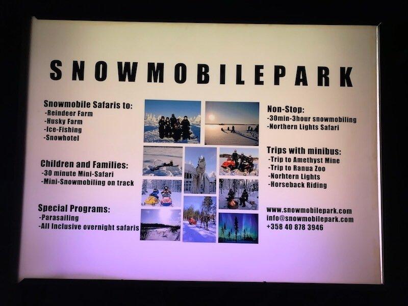 Image - arctic circle snowmobile park sign pic