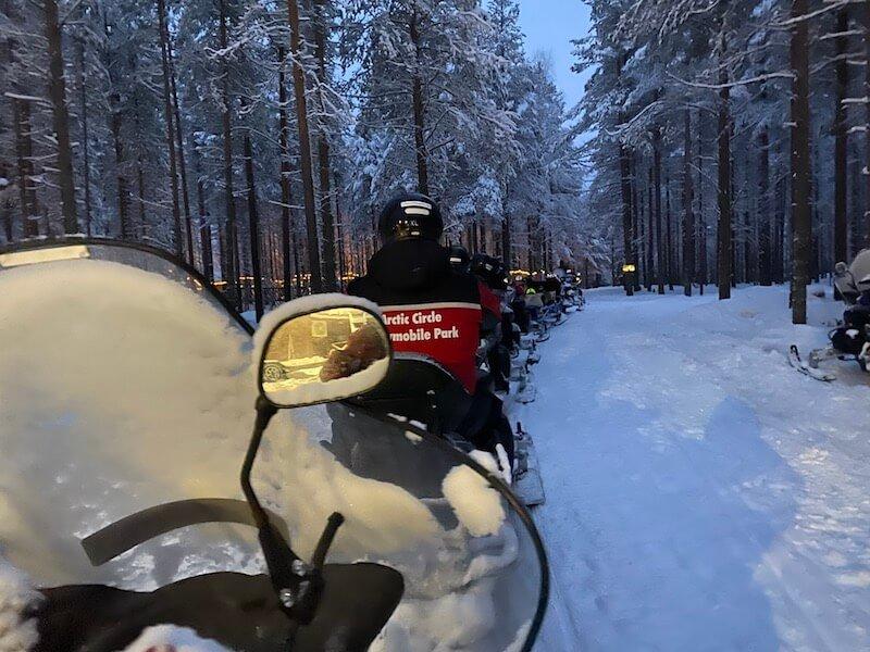 Image - arctic circle snowmobile park snowmobile tour