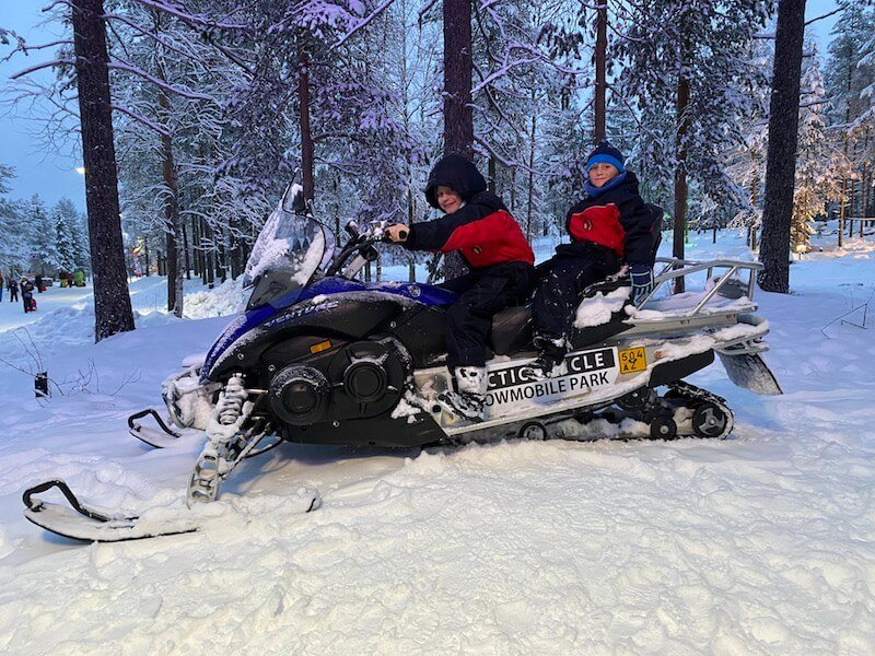 Image - arctic circle snowmobile park