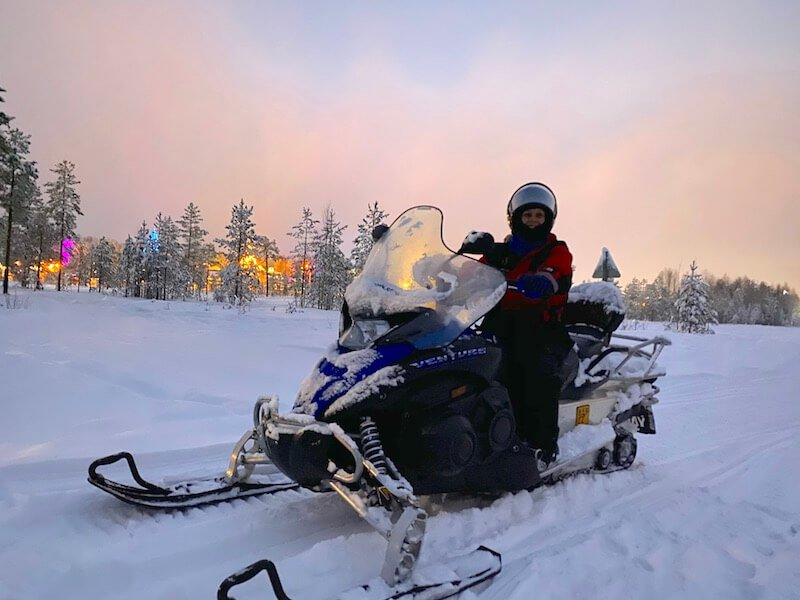 Image - arctic circle snowmobile tour