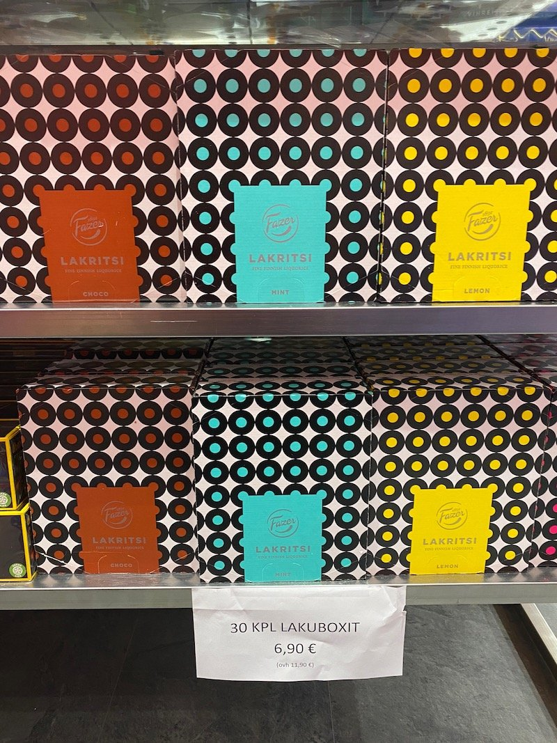 Image - boxed chocs at Karl fazer shop