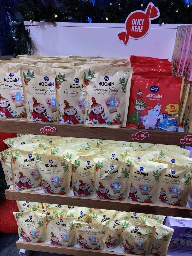 Image - moomin fudge at Karl fazer shop santa claus holiday village